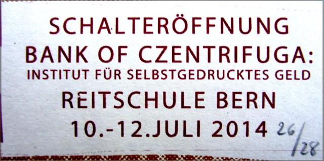 bank of czentrifuga forces at schwarm 2014 textcloseup 1