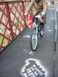 Highlight for Album: Footbridge stencils