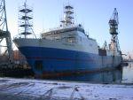 stocznia zima